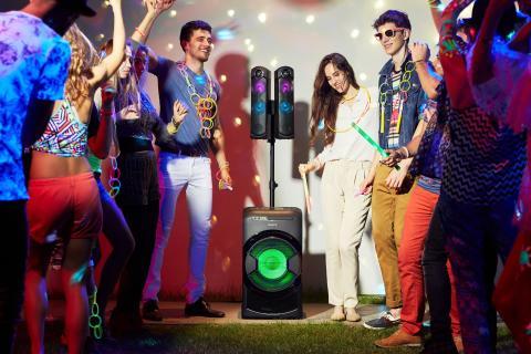 Sony introduceert nieuwe High Power Home Audio-systemen