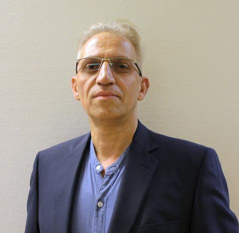 Reza Kazemi, vd och grundare av 3D-Tech Sweden AB.