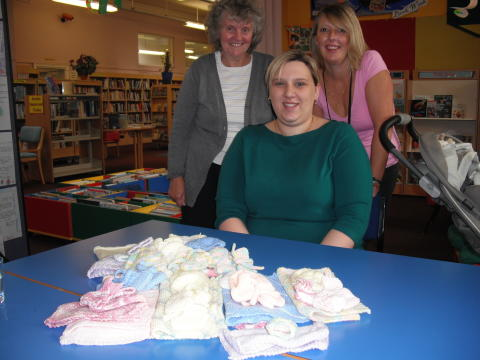 Radcliffe knitters are charity stars