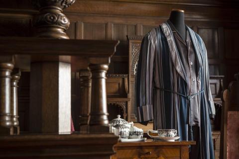 Lord Granthams morgonrock och pyjamas