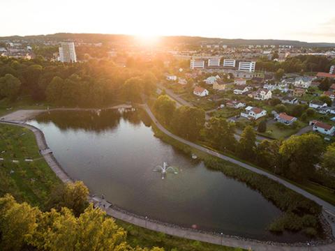Skövde i topp fem bland Sveriges klimatanpassningskommuner