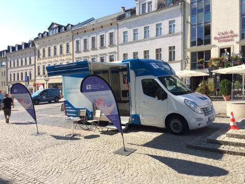 Beratungsmobil der Unabhängigen Patientenberatung kommt am 20. November nach Plauen.