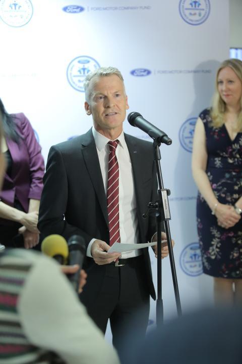 Ian Pearson - Ford Romania President - photo 2