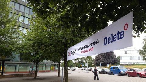 Delete mukana Siivouspäivässä 29.8. Helsingissä Delete-kierrätyspisteellä Hakaniemessä