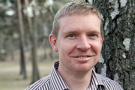 Mark Howells, professor i energisystemanalys vid KTH.