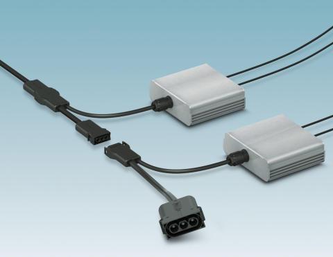 Kompakt AC-anslutning för mikroväxelriktare till solpaneler