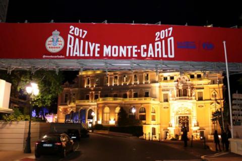 rally Monte carlo skilt