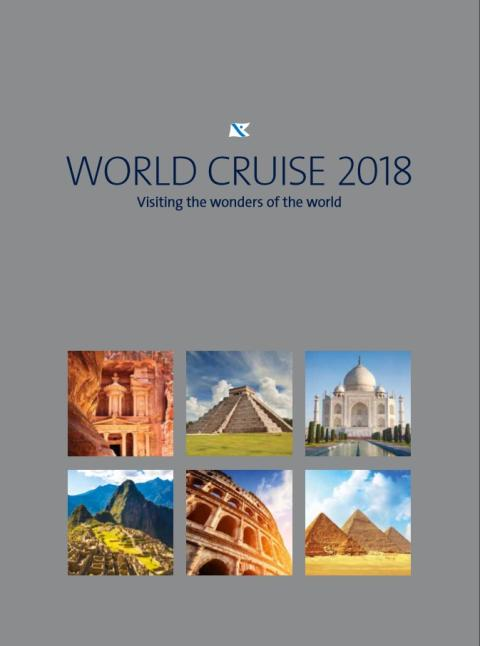 Discover the 'Wonders of the World' with Fred. Olsen Cruise Lines in 2018