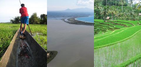 Stort globalt mänskligt fotavtryck för sötvatten