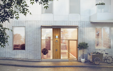 Einar Mattssons nya bostäder i gammal stadsdel i Sundbyberg