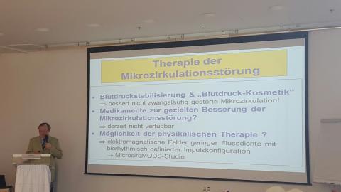 "Internationaler Ärzteworkshop ""MIKROZIRKULATION"" in BERLIN 24.02.2018"