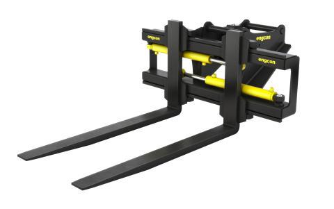 Engcon lanseeraa kevyemmän haarukkarungon – parantaa näkyvyyttä ja mahdollistaa suuremman kuormapainon kaivukoneissa