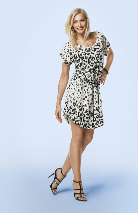 Dyreprintet kjole/tunika