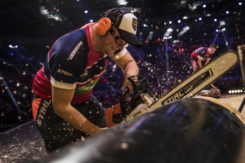 November 2017 kommer STIHL TIMBERSPORTS® World Championship tilbake til Lillehammer og Håkons hall.