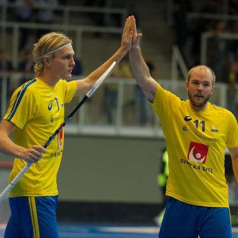 Sverige vann mot Schweiz men först efter straffläggning