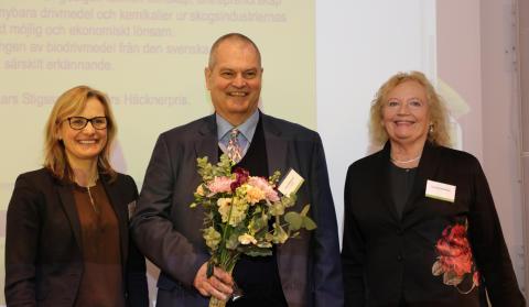 Lars Stigsson är 2018 års mottagare av Jan Häckners bioenergipris
