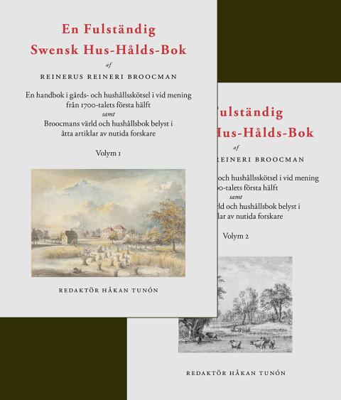 Hushållning på 1700-talet i två volymer
