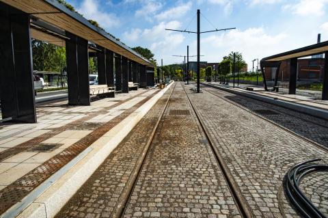 LK Systems levererar markvärme till Lunds kommun som nu får uppvärmda torg och spårvagnshållplatser