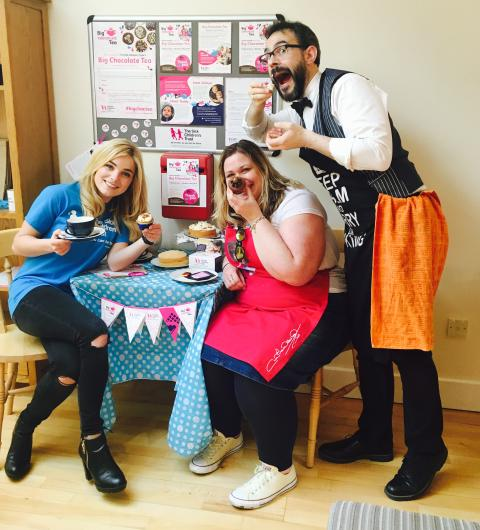 Join In The Chocola-Tea Fun To Help Families With Sick Children