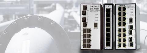 Induo exklusiv distributör av Lantechs nätverk