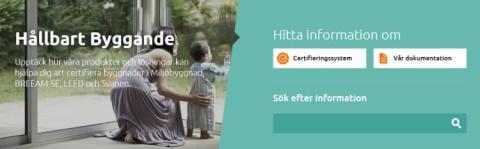 Saint-Gobain lanserar en ny version av siten Hållbart Byggande