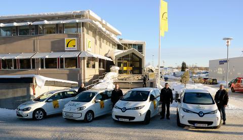 Fossilfritt bränsle i Gavlegårdarnas bilar