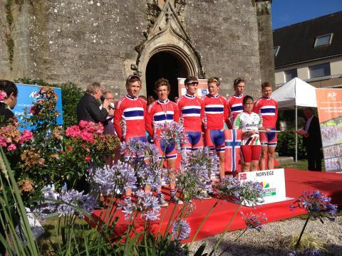 "Juniorlandslaget Landevei ""Le Trophée Centre Morbihan"""