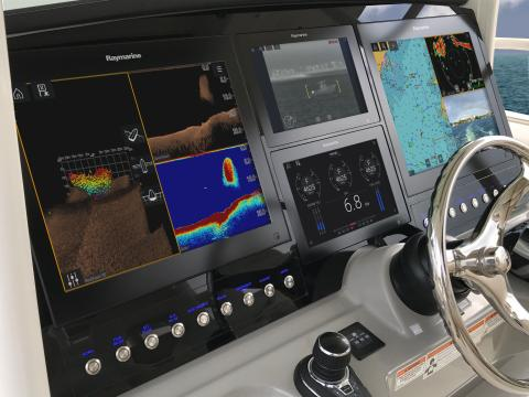 Raymarine - METSTRADE: Raymarine Expands Axiom and LightHouse 3 Offerings