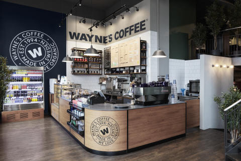 Wayne´s Coffee concept design