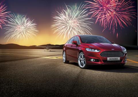 Ford fejrer nytår med et festfyrværkeri af stærke tilbud
