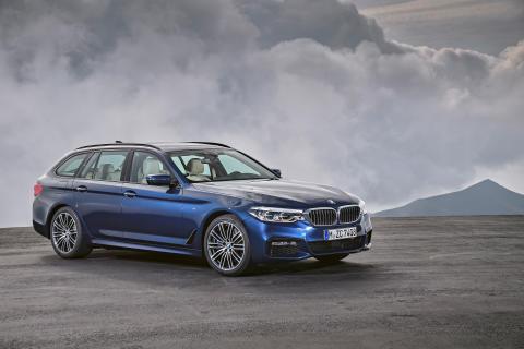Täysin uusi BMW 5-sarjan Touring