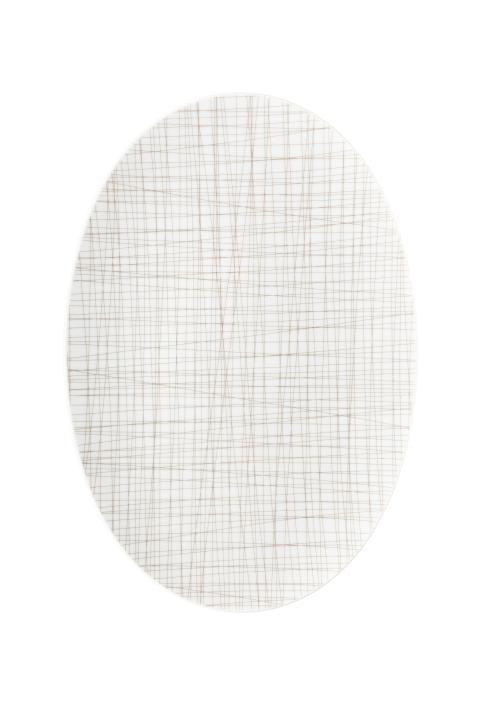 R_Mesh_Line Walnut_Platter 42 cm