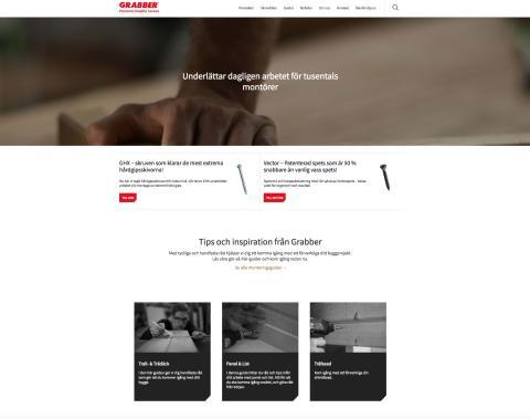 Nya grabber.se – byggd i Umbraco med fokus på produktsök