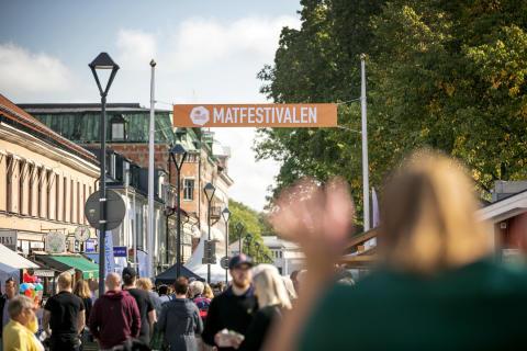 Matfestivalen i Skövde firar 30 årsjubileum och blandar gammalt och nytt