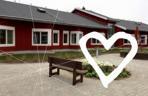 Invigning idag av Trädgårdens äldrecentra!