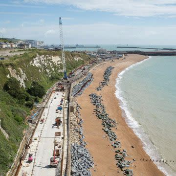 Dover to Folkestone railway repairs ahead of schedule
