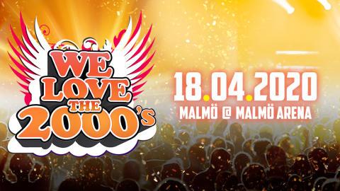We love the 2000s till Malmö Arena