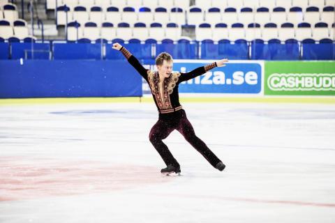 Alexander Majorov, SM 2013, korta programmet