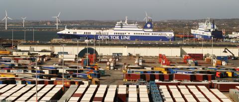 Ro-ro Terminal in Port of Gothenburg