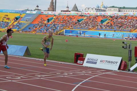 Växjös Alexander Brorsson missade finalen på Universiaden trots karriärens näst bästa tid