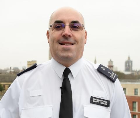 Special Sergeant Geoff Tatman