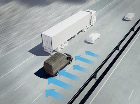 Viharálló technológia: az új Oldalszél Stabilizálás segítségével a Ford Transitok bármilyen időjárási viszonyok mellett  biztosan tartják a sávot