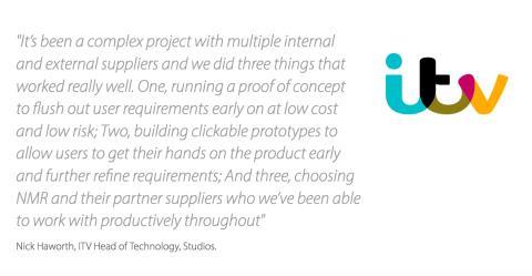 Custom development work for ITV on marketing campaign management system