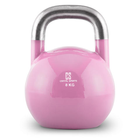 Compket Kettlebell 10028361 8kg rosa