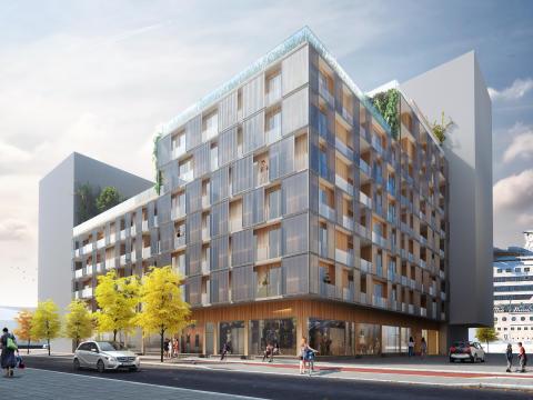 Arkitema vinner tävling i Södra Värtahamnen