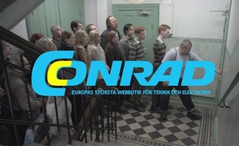 Årslång TV-kampanj från Conrad.se