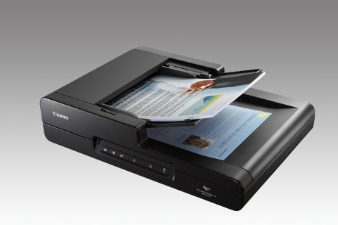 Canon lanserar snabb allround-scanner för kontoret