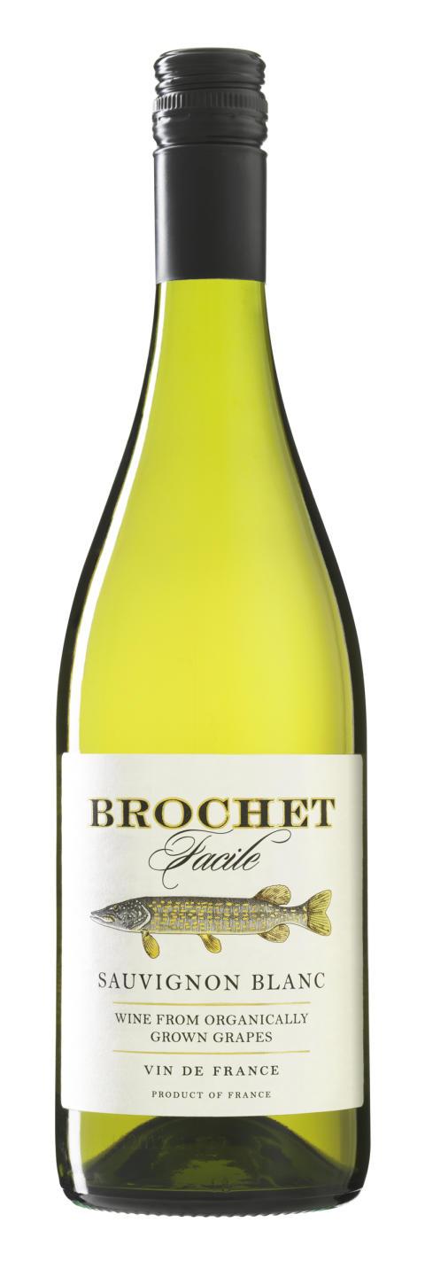 Ett av Sveriges bästa ekoviner! Brochet Réserve Sauvignon Blanc_74 kr_nr 2267