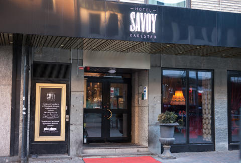 Hotell Savoy, Karlstad - fasad
