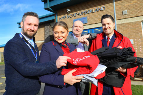 Virgin Trains and HMP Northumberland transform old uniforms in pioneering recycle scheme